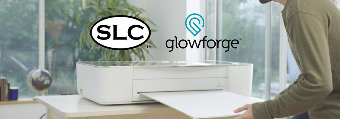 SLC and Glowforge banner