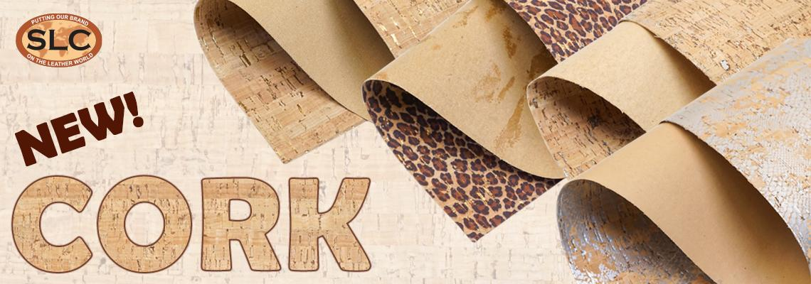 Buy cork fabric at Springfield Leather Company
