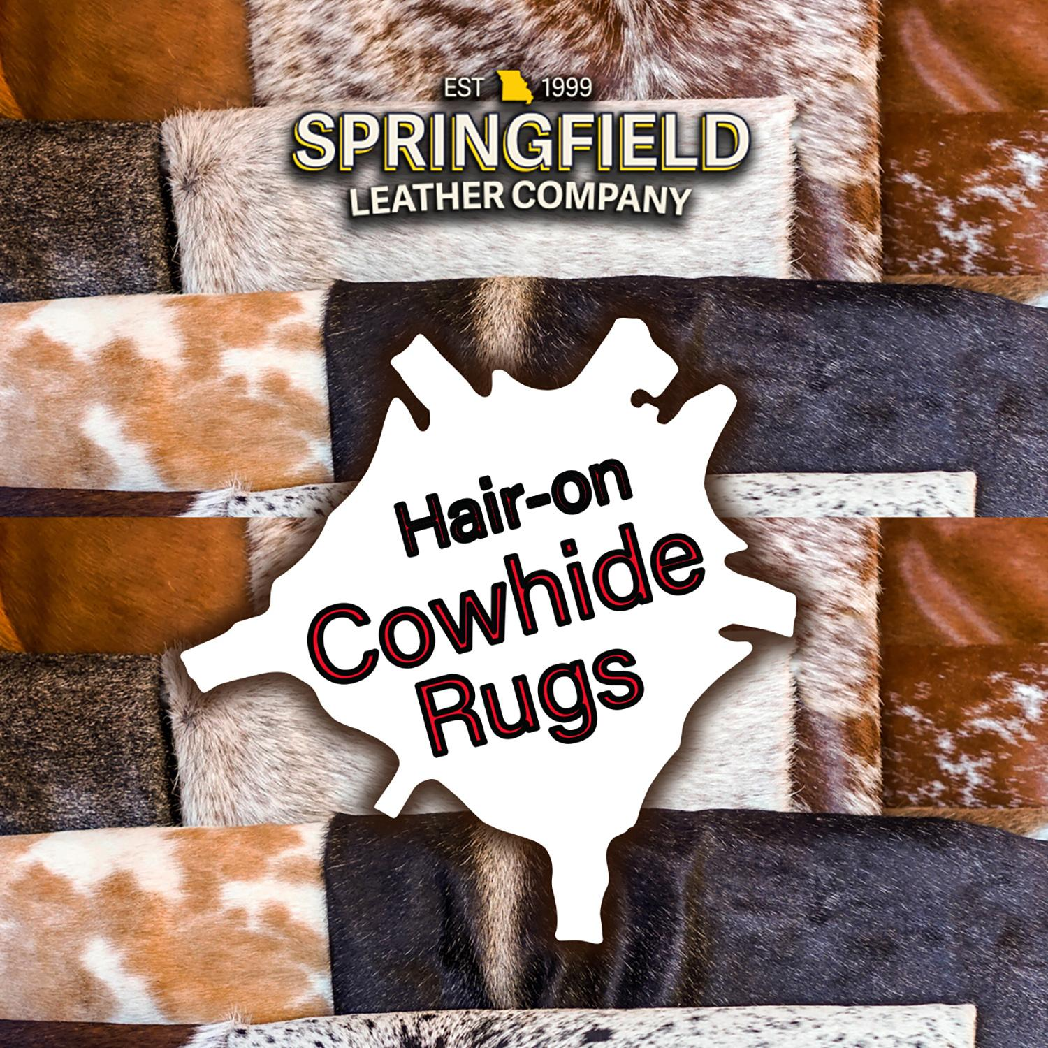 Select Cowhide Rugs Only $150!