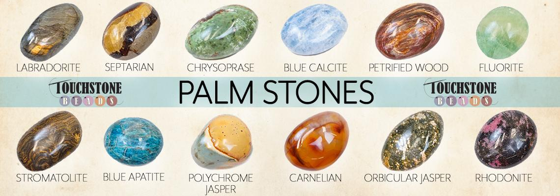 New palmstones from touchstone beads