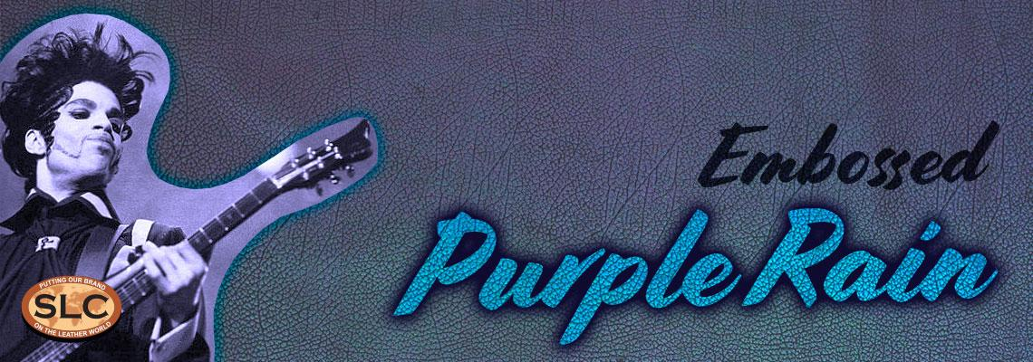 Special Purchase Embossed Purple Rain