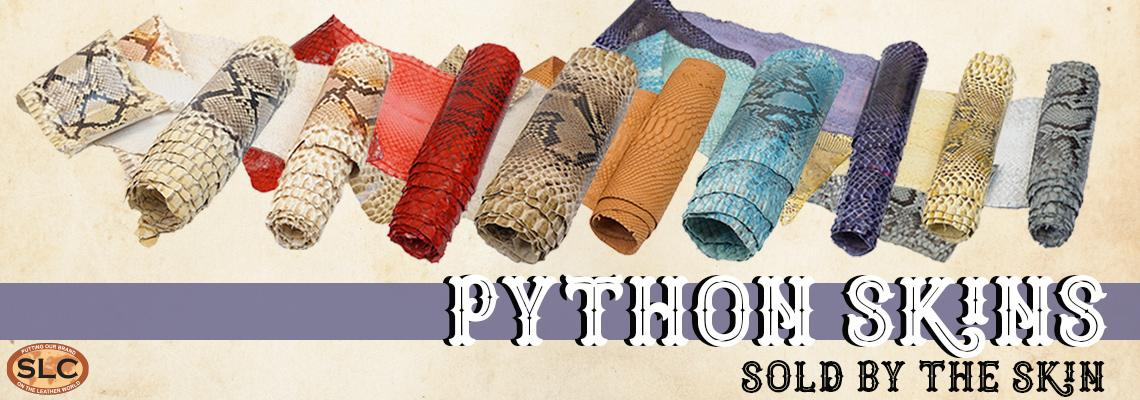 individually listed python skins