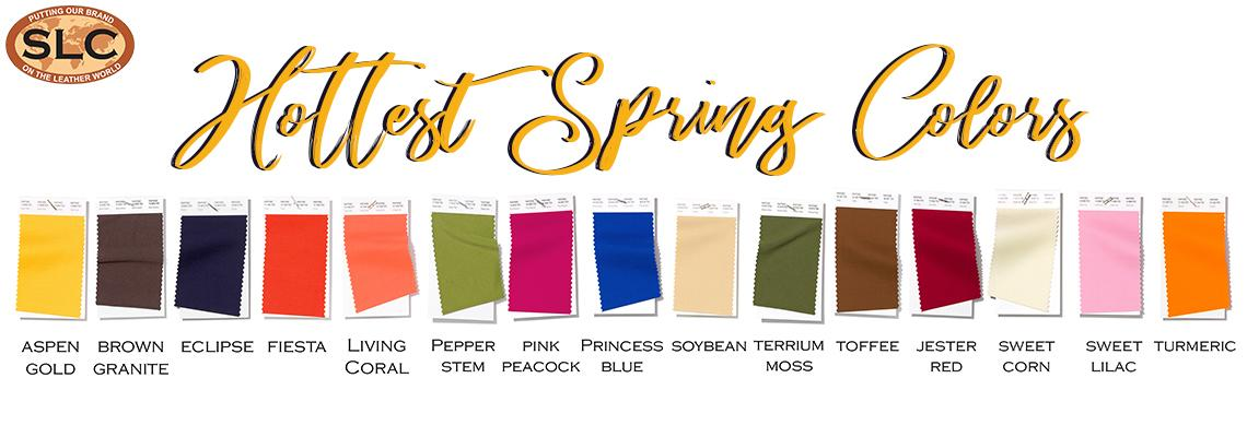 hottest spring colors