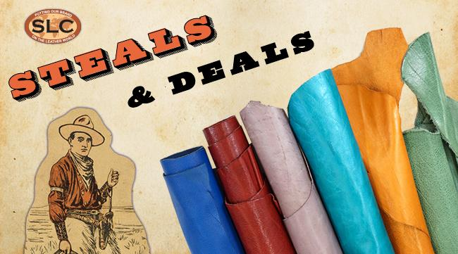 Steals and Deals - a section for limited-time and special sales.
