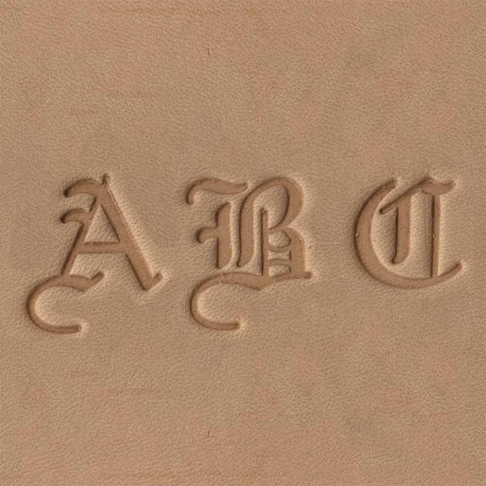 Old English Craftmaster Alphabet Stamp Set